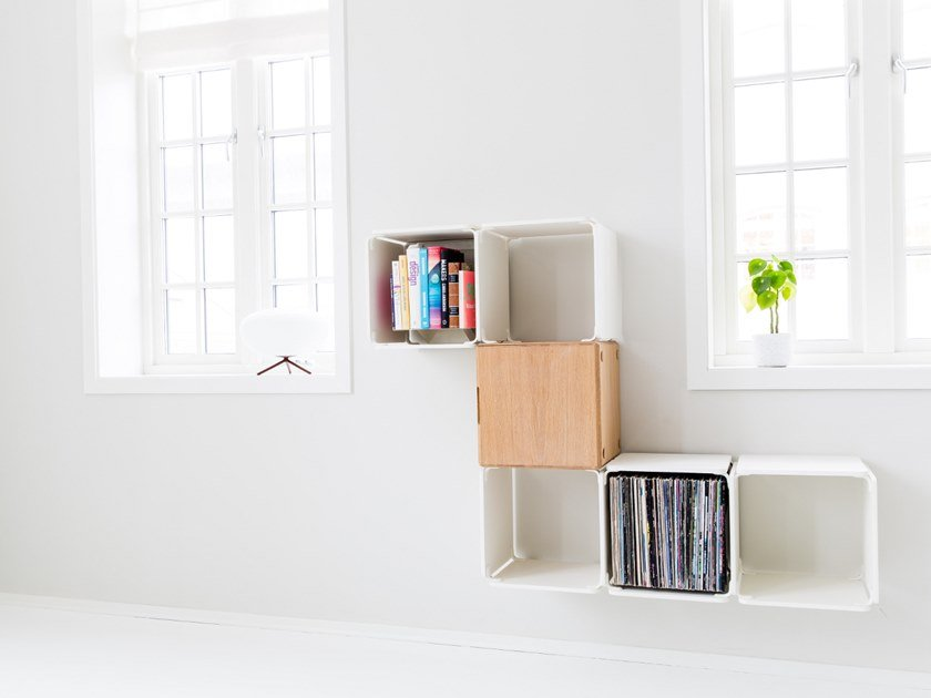 Open wall cabinet OPE - FIVE SPACES & CABINET by Ope
