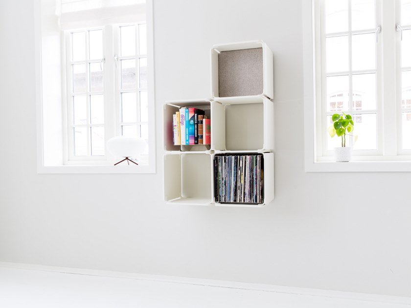 Open wall cabinet OPE - FIVE SPACES COMPACT by Ope