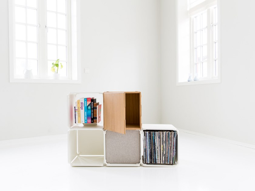 Open bookcase OPE - FOUR SPACES & CABINET by Ope