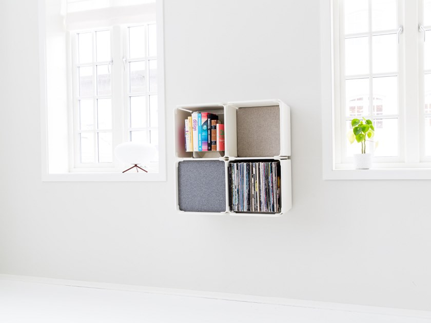 Open wall cabinet OPE - FOUR SPACES COMPACT by Ope