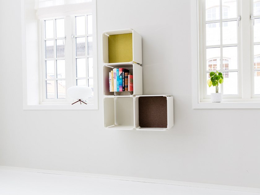 Open wall cabinet OPE - FOUR SPACES by Ope