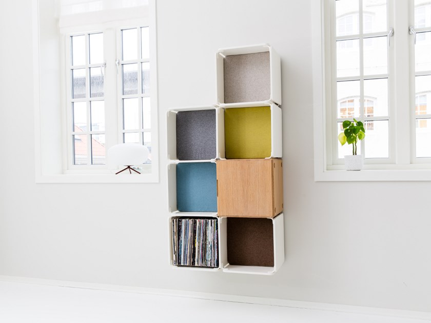 Open wall cabinet OPE - SIX SPACES & CABINET COMPACT by Ope
