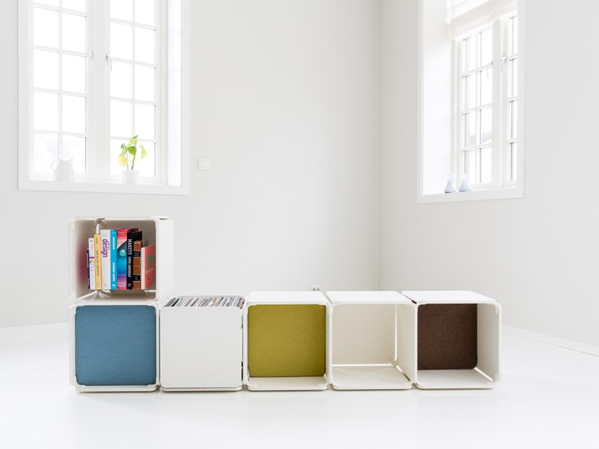 Open bookcase OPE - SIX SPACES by Ope