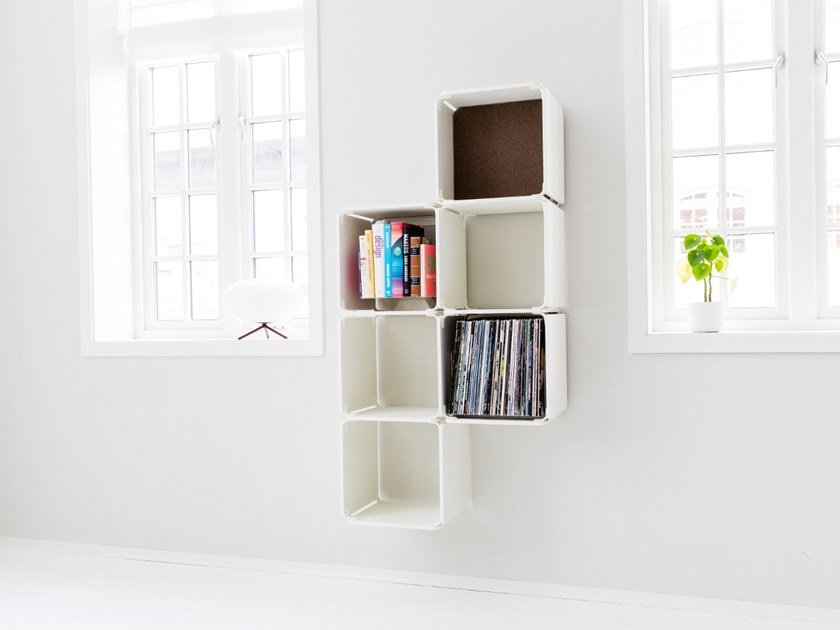 Open wall cabinet OPE - SIX SPACES by Ope