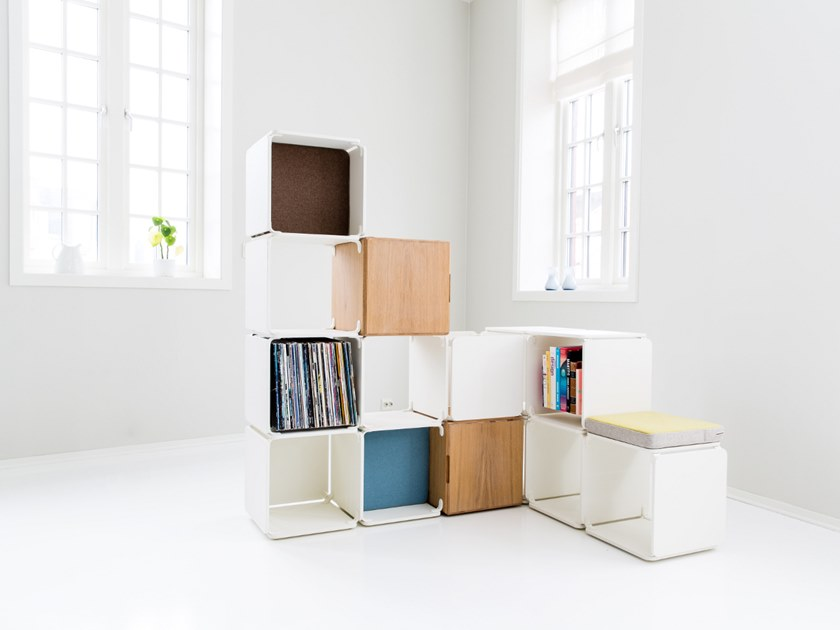 Open divider bookcase OPE - SPACE DIVIDER/CORNER by Ope