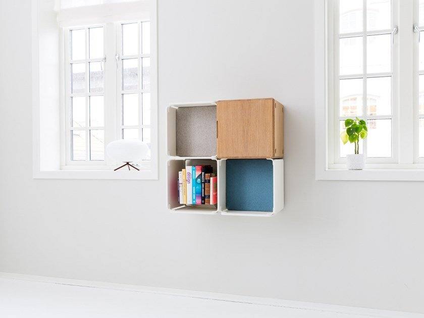 Open wall cabinet OPE - THREE SPACES & CABINET COMPACT by Ope