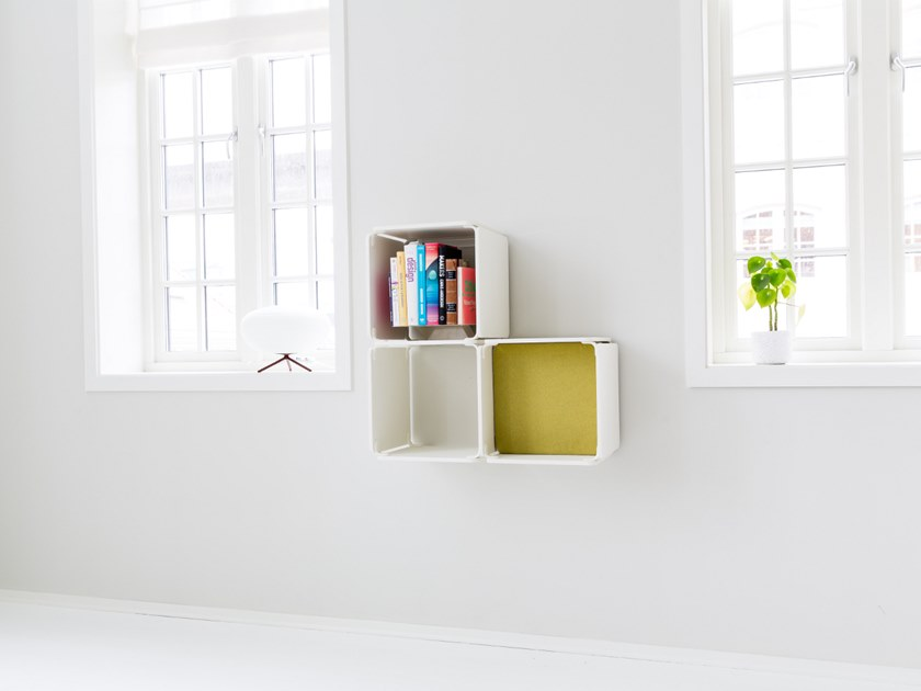 Open wall cabinet OPE - THREE SPACES by Ope
