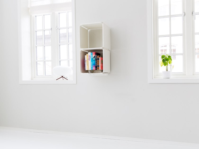Open vertical wall cabinet OPE - TWO SPACES STANDING by Ope