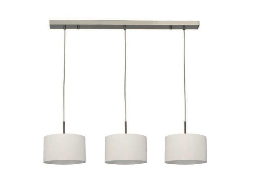 Direct light cotton pendant lamp OPEN 3 by Aromas del Campo