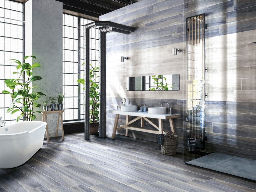 Porcelain stoneware wall/floor tiles OPEN by CERAMICHE BRENNERO