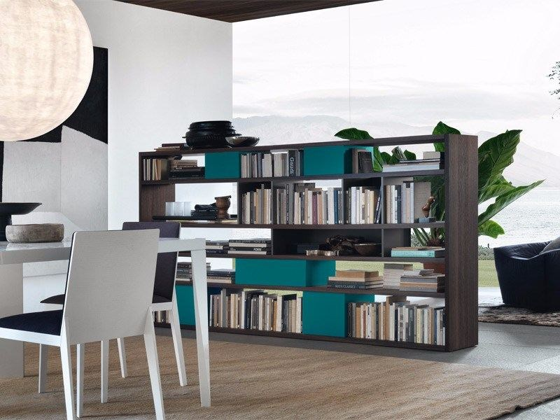 Divider bookcase OPEN | Divider bookcase by JESSE