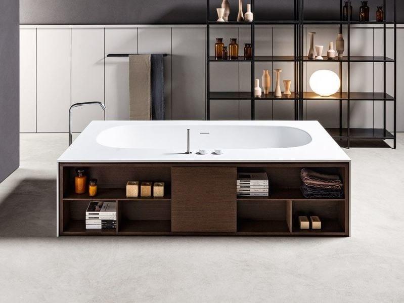 Vasca Da Bagno Sottopiano : Vasca da bagno centro stanza open suite makro