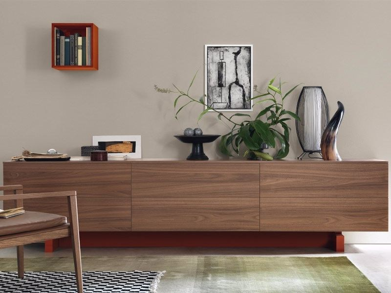 Sideboard with drawers OPEN | Sideboard with drawers by JESSE
