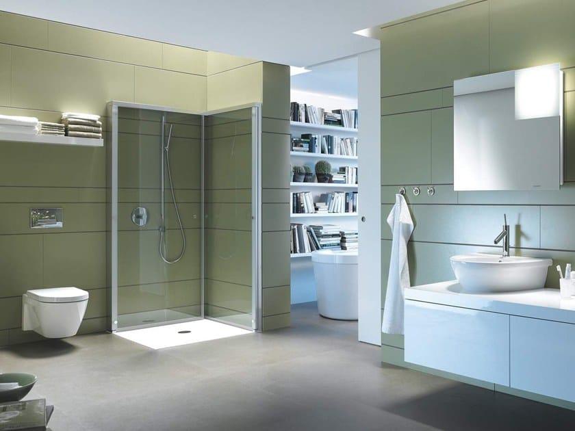 Corner shower cabin OPENSPACE B By Duravit design EOOS