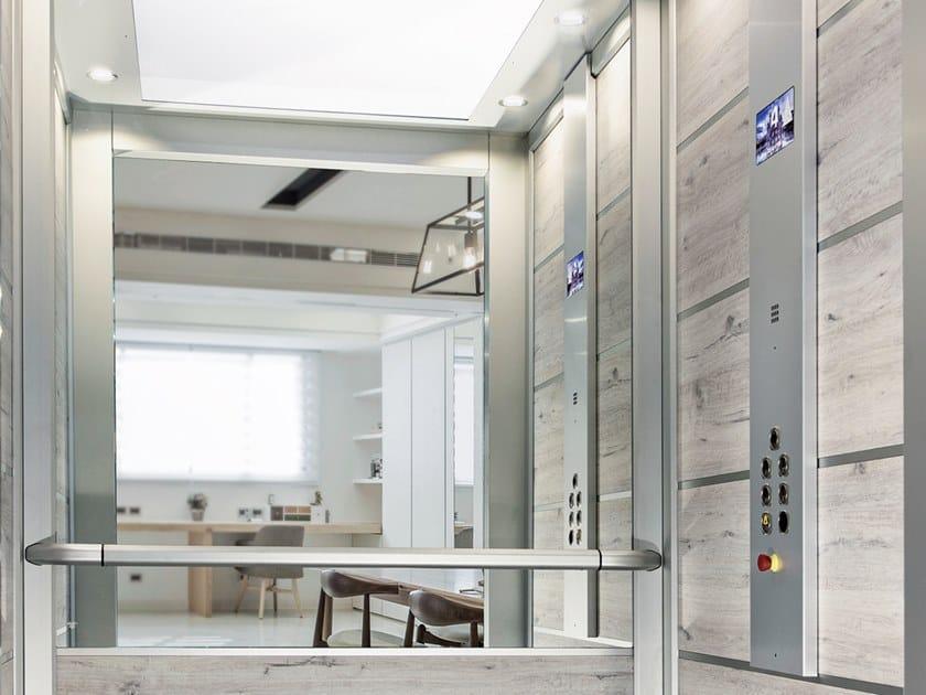 Cabins for domestic lift OPERA by LIFTINGITALIA