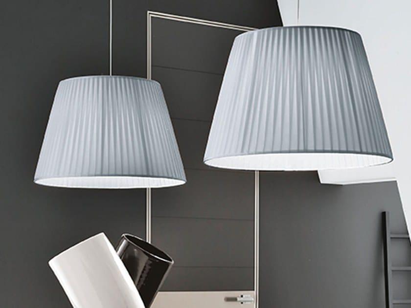 Fabric pendant lamp OPERA | Pendant lamp by Adriani e Rossi edizioni