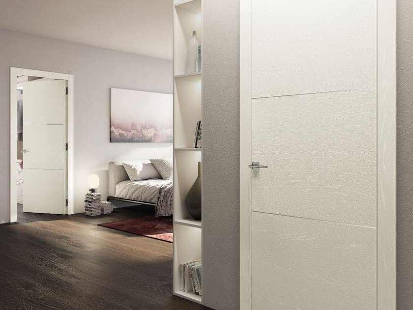 Hinged lacquered door OPERA50 by PIVATO