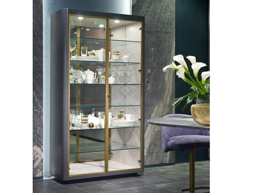 Display cabinet OPTICAL SKIN | Display cabinet by Carpanelli Contemporary