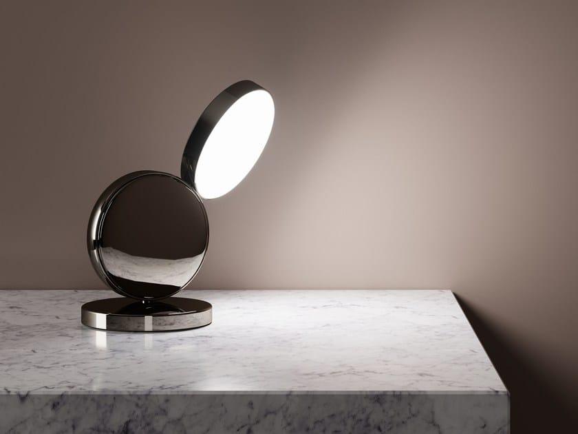 Adjustable table lamp OPTUNIA | Table lamp by FontanaArte