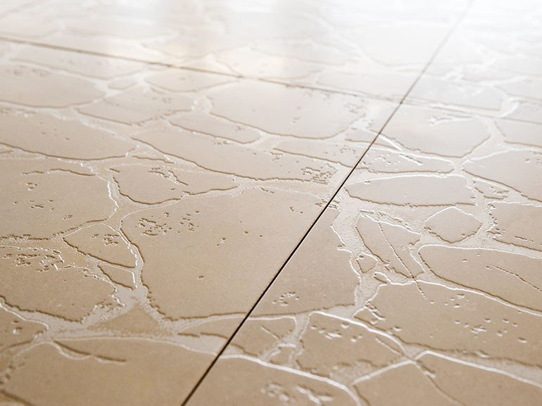 Trani stone wall/floor tiles OPUS INCERTUM by Lithos Mosaico Italia