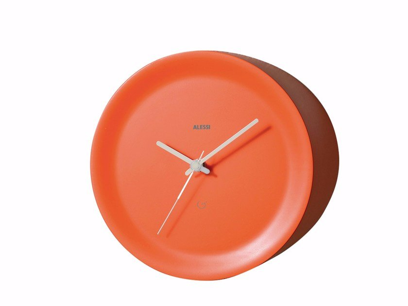 Orologio in resina termoplastica da parete ORA OUT By Alessi design ...