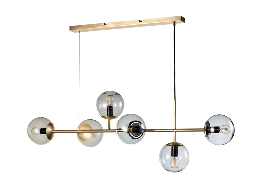 Brass pendant lamp ORB | Pendant lamp by Bolia