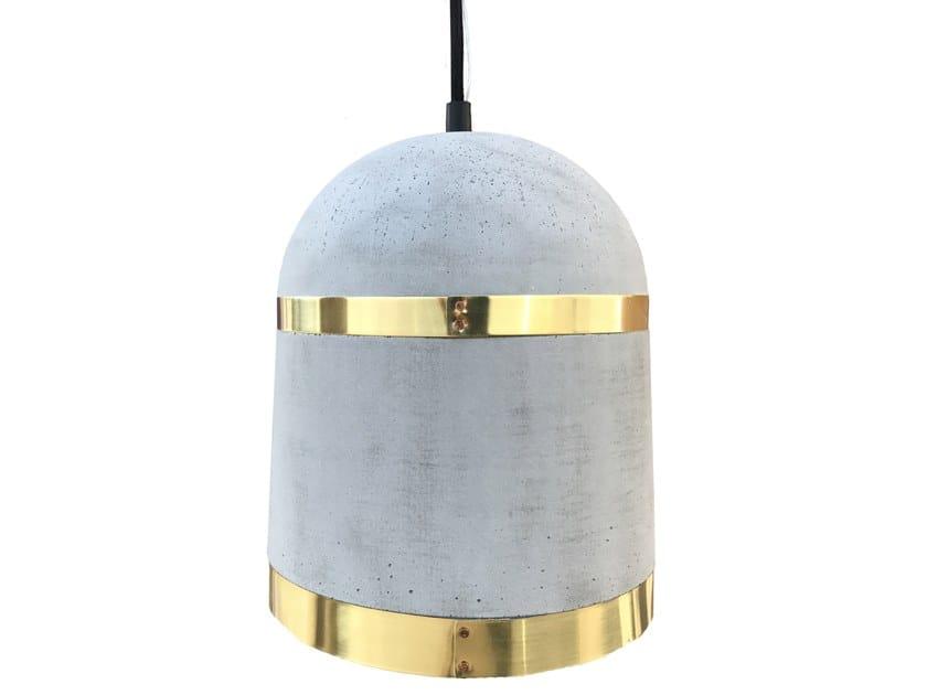 Direct light concrete pendant lamp ORBIS by Specimen Editions