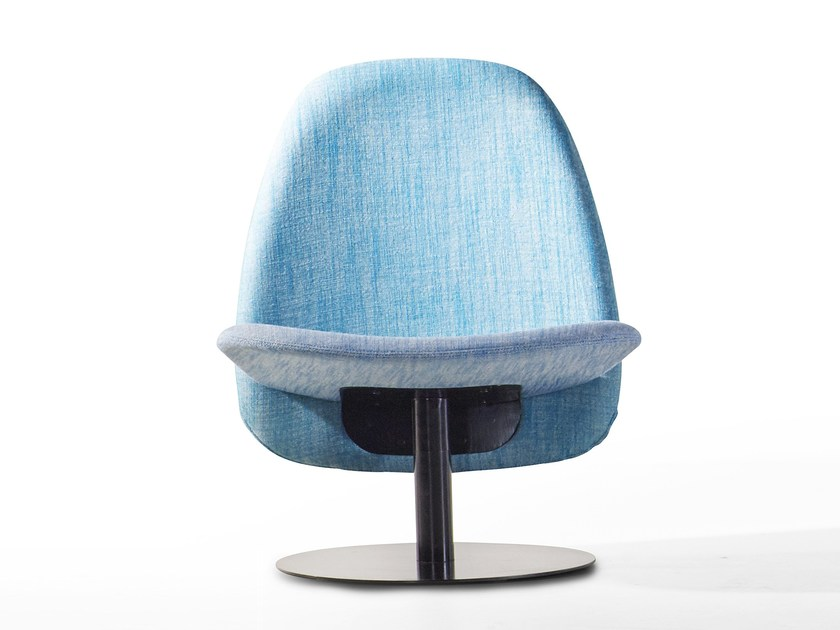 Fabric armchair ORBIT | Fabric armchair by Derlot Editions