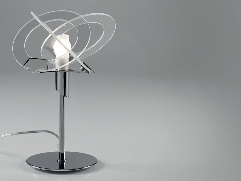Glass table lamp ORBIT | Table lamp by Cattaneo