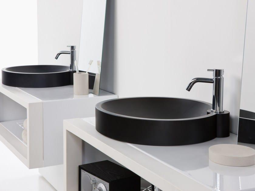 Semi-inset round washbasin ORBITA | Semi-inset washbasin by EVER Life Design