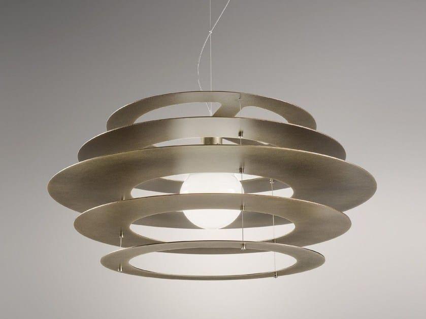 LED metal pendant lamp ORBITA by Olev