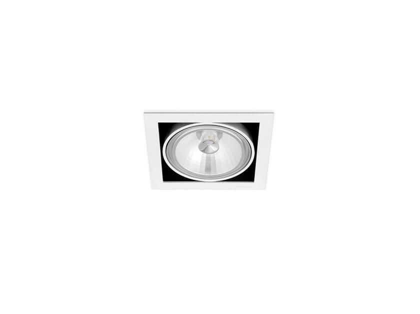 Faretto a LED in alluminio da incasso ORBITAL 1 QR-111 by Arkoslight