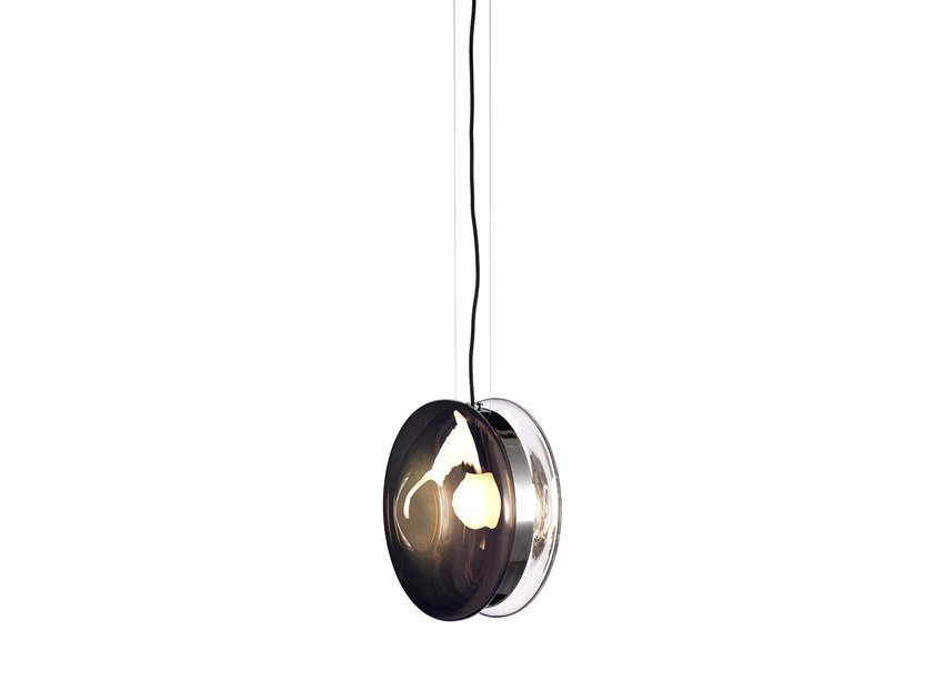 Blown glass pendant lamp ORBITAL | Pendant lamp by bomma