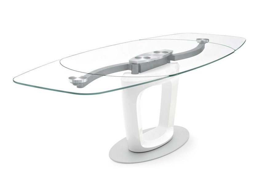 Tavolo Allungabile Vetro Calligaris.Orbital Extending Table By Calligaris Design Pininfarina