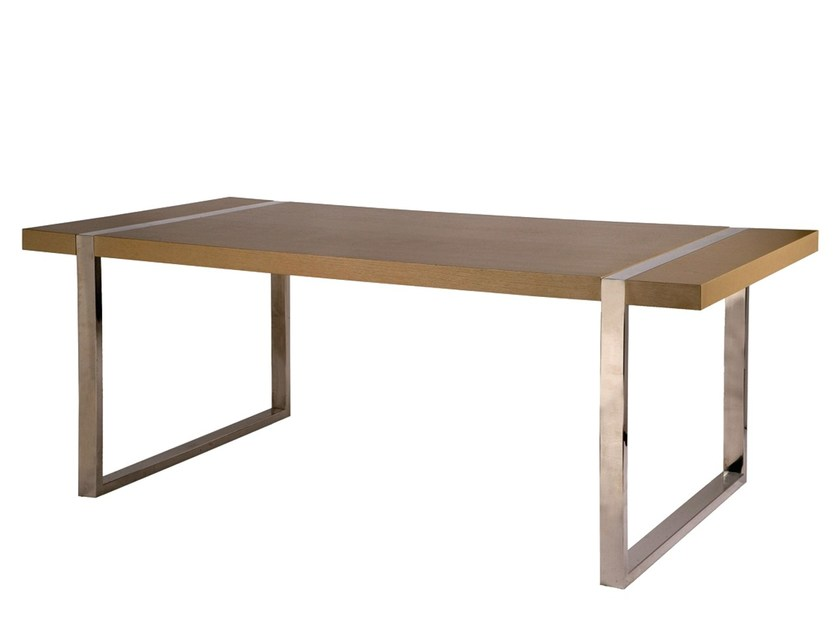Wood veneer secretary desk ORCA | Secretary desk by Branco sobre Branco