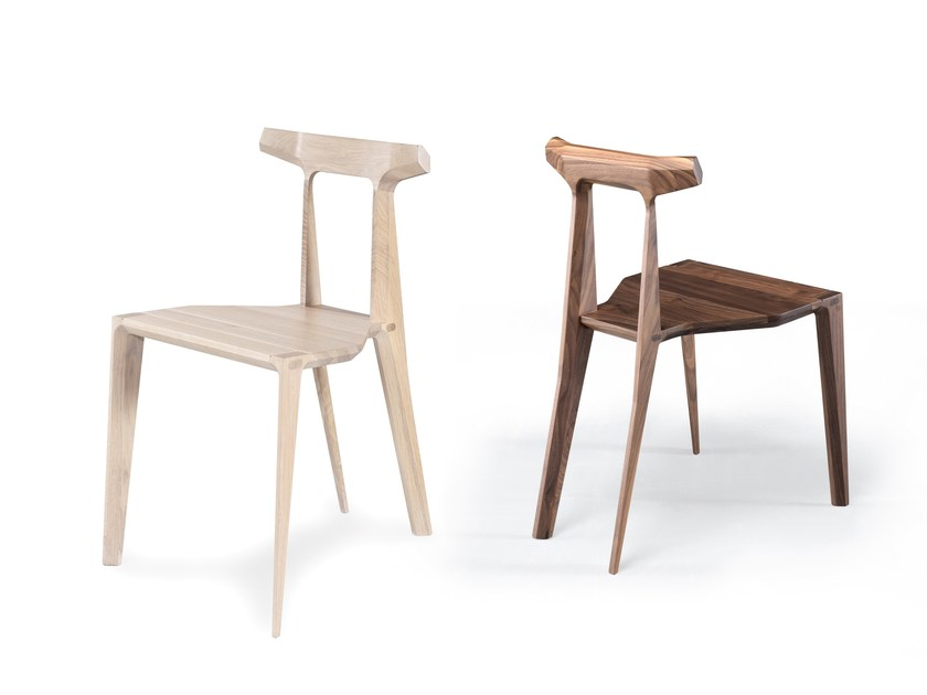 Solid wood chair ORCA by Wewood