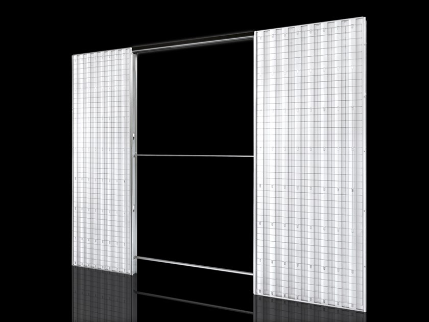 Counter frame for double sliding doors ORCHIDEA | Counter frame for double sliding doors by FIBROTUBI
