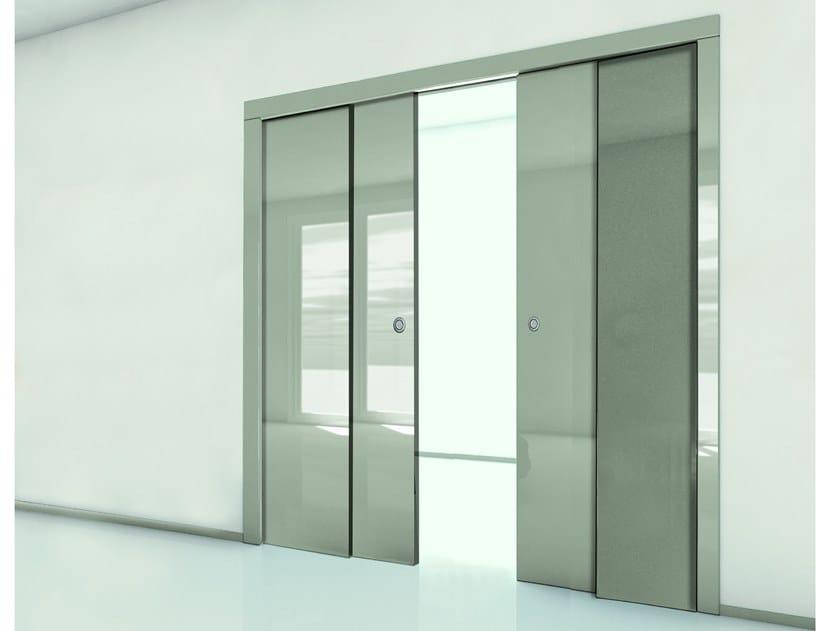 Porte Scorrevoli A 2 Ante.Fibrotubi Orchidea Counter Frame For Parallel Sliding Doors