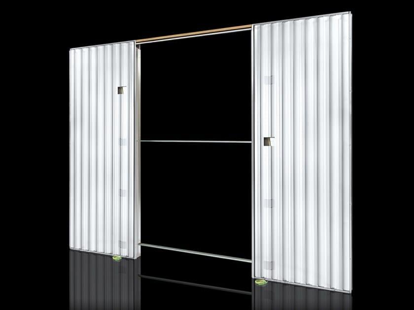 Counter frame for double sliding doors ORCHIDEA LIGHT   Counter frame for double sliding doors by FIBROTUBI