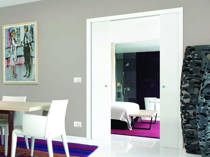 Counter frame for double sliding doors ORCHIDEA LIGHT by FIBROTUBI