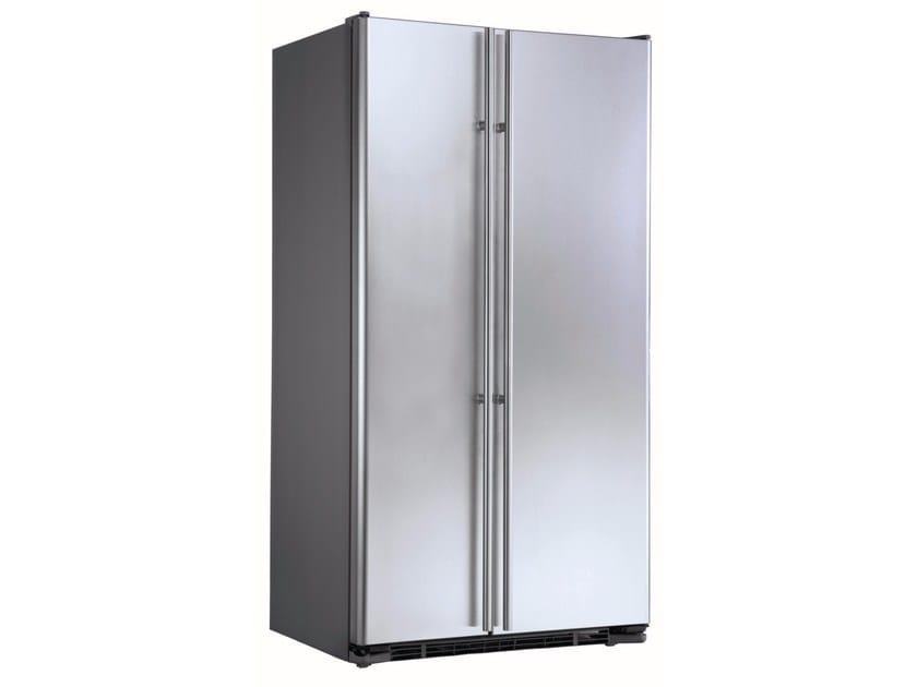 Amerikanischer Kühlschrank Edelstahl : Amerikanischer no frost einbaukühlschrank aus edelstahl im