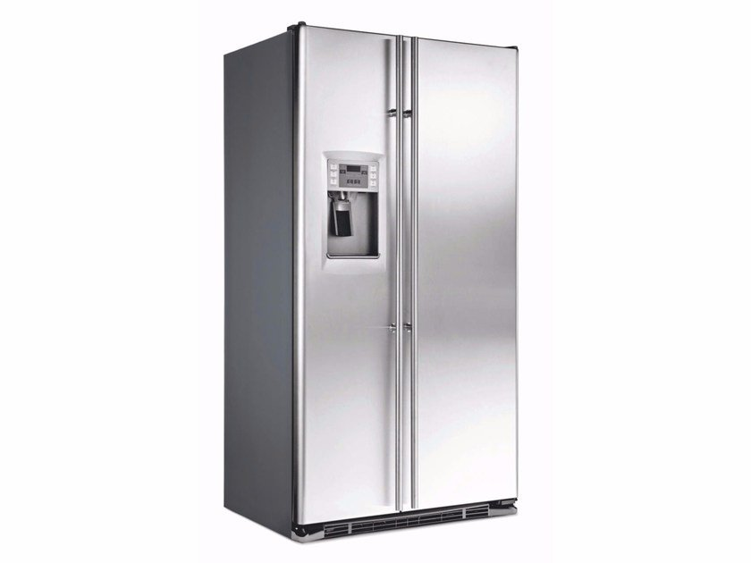 American Style No Frost Stainless Steel Refrigerator With Ice Dispenser Cl A Ore 24 Cgf