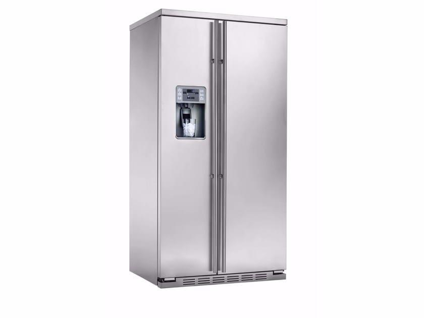 Amerikanischer Kühlschrank Günstig Kaufen : Amerikanischer no frost kühlschrank aus edelstahl mit eisspender