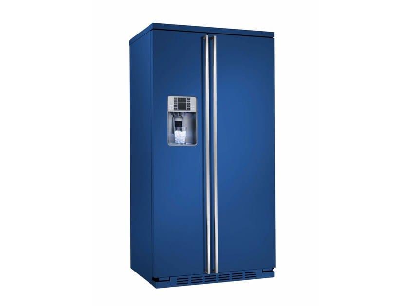 Frigorifero americano no frost con dispenser ghiaccio classe A+ ORE ...