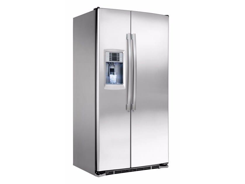 Amerikanischer Kühlschrank : Amerikanischer kühlschrank aus edelstahl im modernen stil mit