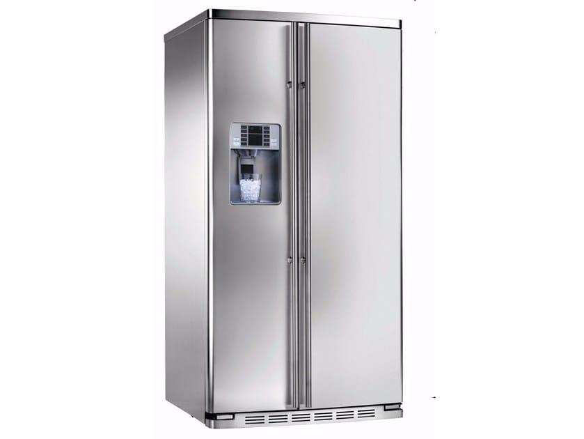 Amerikanischer Kühlschrank Edelstahl : Amerikanischer no frost kühlschrank aus edelstahl mit eisspender