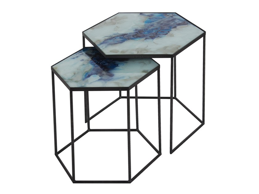 Glass Coffee Table Organic By Notre Monde