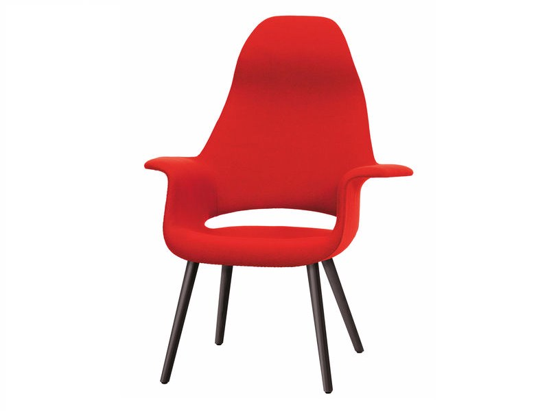 High-back fabric chair ORGANIC HIGHBACK by Vitra