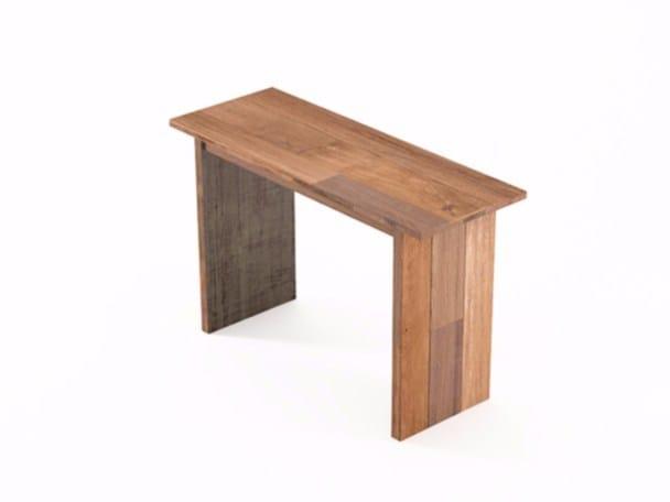 Rectangular wooden writing desk ORGANIK | Writing desk by KARPENTER