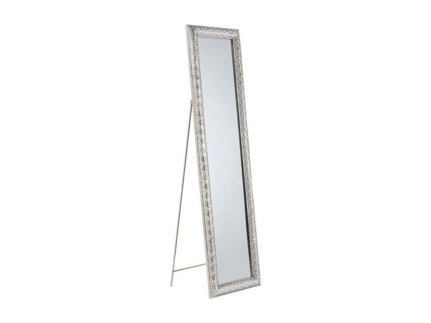 Freestanding Rectangular Framed Mirror Orient 180 X 48 By Kare Design